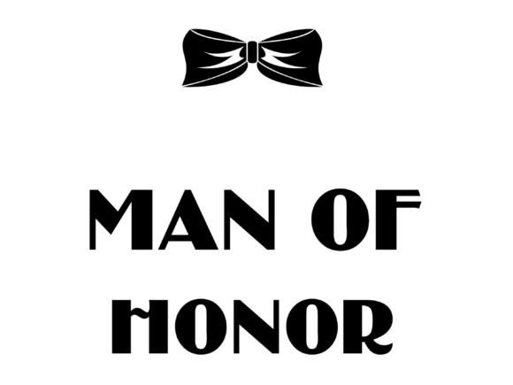 Download Free Man Of Honor Graphic By Twelvepapers Creative Fabrica for Cricut Explore, Silhouette and other cutting machines.