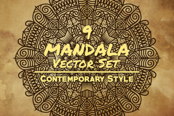 Mandala Art Graphic Illustrations By Arterfak Project