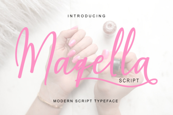 Print on Demand: Maqella Script & Handwritten Font By Bexx Type