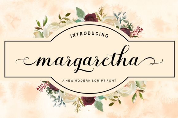 Print on Demand: Margaretha Script & Handwritten Font By letterfreshstudio