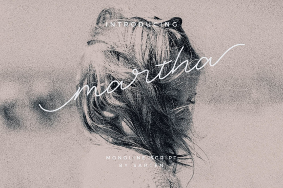 Print on Demand: Martha Script & Handwritten Font By sarten