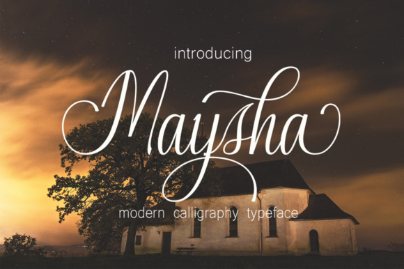 Print on Demand: Maysha Script & Handwritten Font By desinglabs91