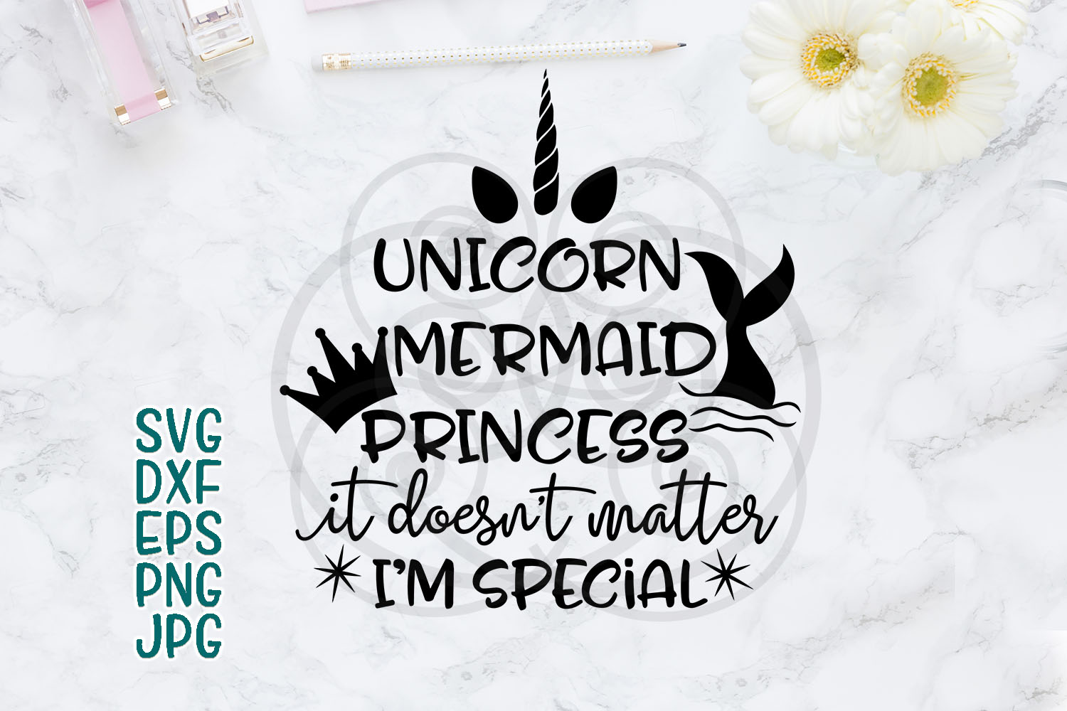 Download Free Mermaid Unicorn Mermaid Sayings Mermaid Words Princess for Cricut Explore, Silhouette and other cutting machines.