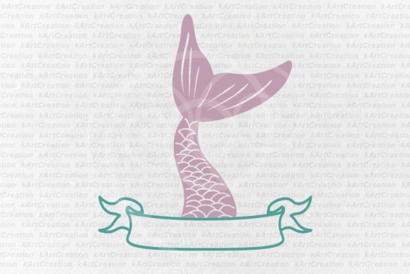 Download Free Mermaid Tail Fish Tail File Mermaid Tail Split Monogram Banner Ribbon Horizontal Monogram For Name Cricut Silhouette Graphic By Cornelia Creative Fabrica for Cricut Explore, Silhouette and other cutting machines.