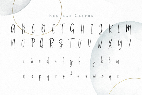 Milano Sky Script Font By By Lef Image 3