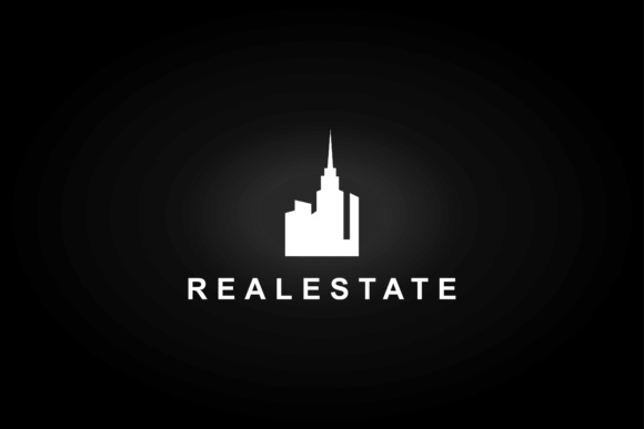 Minimalist Real Estate Logo. Graphic By sabavector