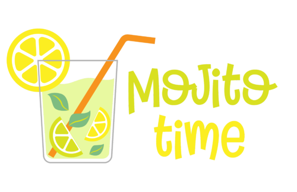Print on Demand: Mojito Time Graphic Crafts By Craf Craf
