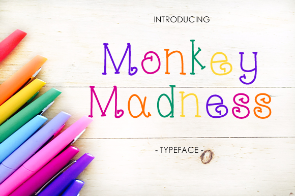 Print on Demand: Monkey Madness Script & Handwritten Font By yh.seaofknowledge - Image 1