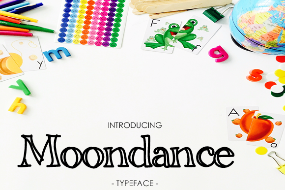 Print on Demand: Moondance Display Font By yh.seaofknowledge - Image 1