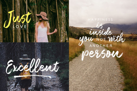 Print on Demand: Moonshine Brush Script Script & Handwritten Font By Youngtype - Image 6