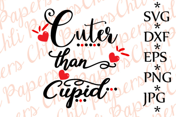 Download Free Cuter Than Cupid Svg Baby Valentine S Svg Cupid Svg Love Svg for Cricut Explore, Silhouette and other cutting machines.