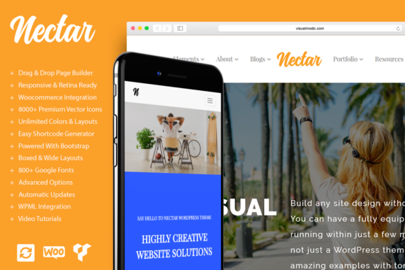 Nectar Multi-Purpose WordPress Theme