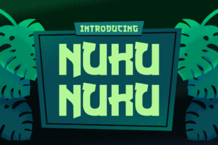 Nuku Nuku Font By Creative Fabrica Freebies