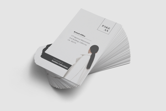 Print on Demand: Pakean Business Card & Post Card Graphic Print Templates By onedsgn - Image 3