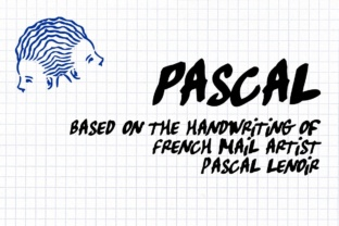 Pascal Font By grin3