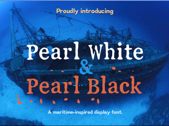 Print on Demand: Pearl Serif Font By Markus Schroppel