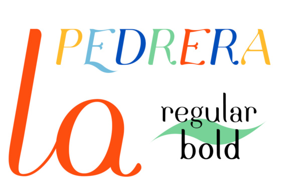 Print on Demand: Pedrera Family Serif Font By Etewut - Image 1