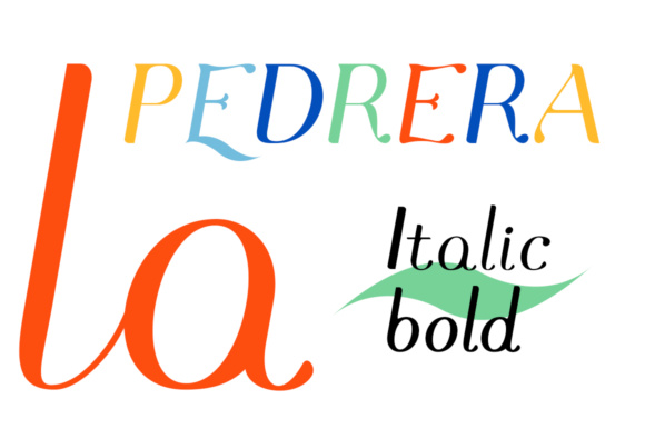 Print on Demand: Pedrera Italic Serif Font By Etewut