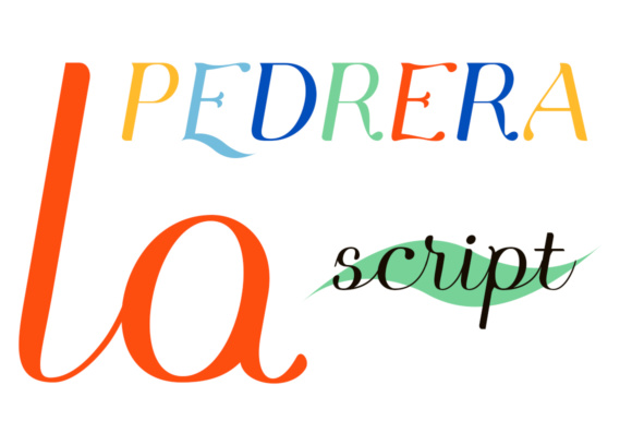 Print on Demand: Pedrera Script & Handwritten Font By Etewut