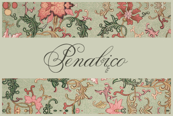 Print on Demand: Penabico Script & Handwritten Font By Intellecta Design
