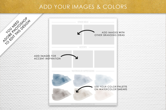Photoshop Brand Board Template Graphic By daphnepopuliers Image 5