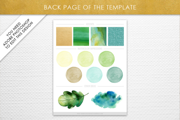 Photoshop Brand Board Template Graphic By daphnepopuliers Image 3