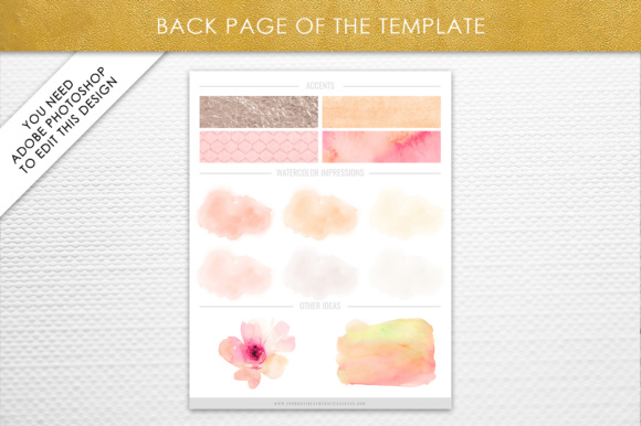 Print on Demand: Photoshop Brand Board Template Graphic Presentation Templates By daphnepopuliers - Image 3