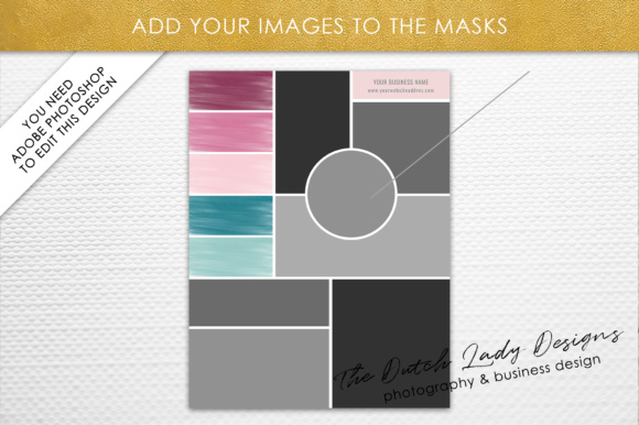 Photoshop Mood Board Template Graphic By Daphnepopuliers Creative Fabrica