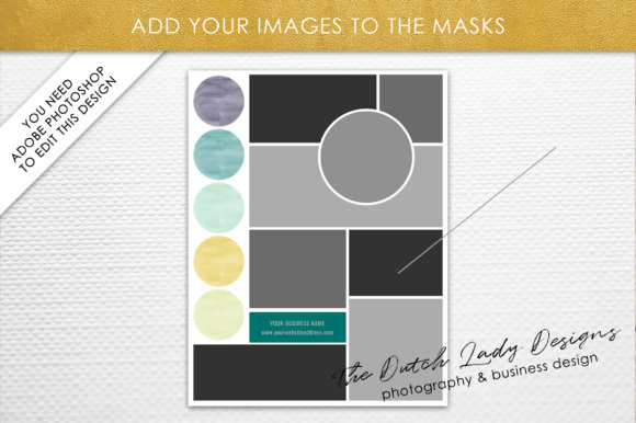Photoshop Mood Board Template