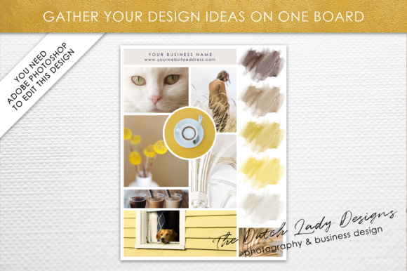 Photoshop Mood Board Template Graphic By daphnepopuliers Image 2