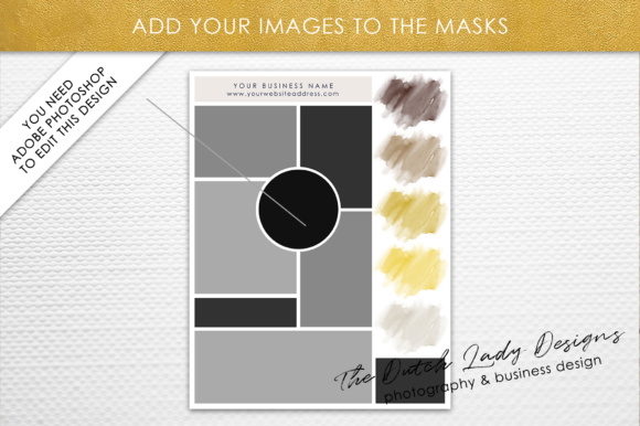 Photoshop Mood Board Template Graphic By daphnepopuliers Image 3