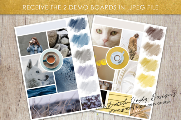 Photoshop Mood Board Template Graphic By daphnepopuliers Image 5