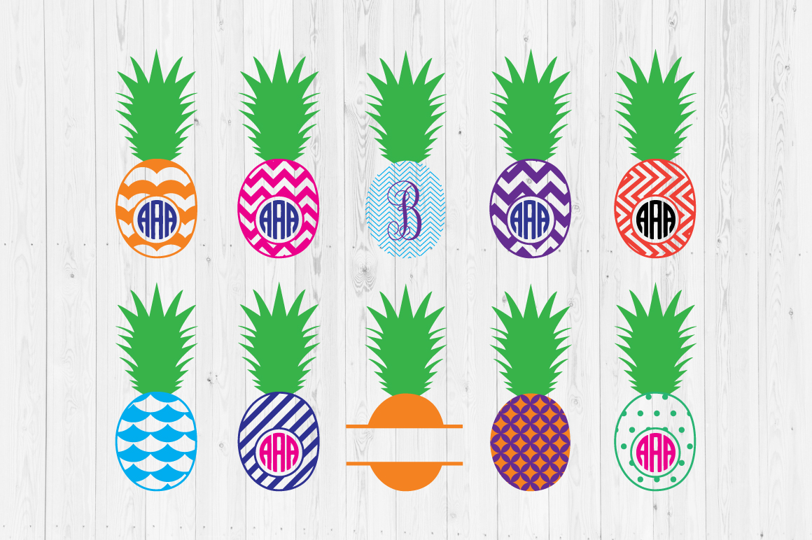 Download Free Pineapple Files Graphic By Cutperfectstudio Creative Fabrica for Cricut Explore, Silhouette and other cutting machines.