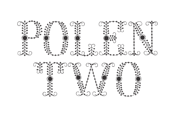Print on Demand: Polen Two Display Font By Intellecta Design