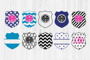 Police Badges Cut Files Graphic Crafts By Cutperfectstudio