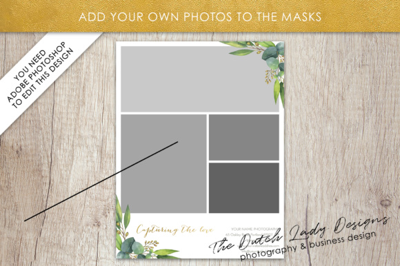 Download Free Price List Portfolio Page For Photographers Graphic By for Cricut Explore, Silhouette and other cutting machines.