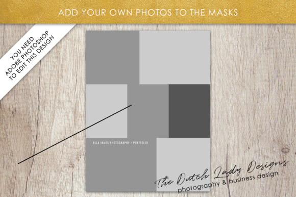 Print on Demand: Price List & Portfolio Page for Photographers Graphic Presentation Templates By daphnepopuliers - Image 4