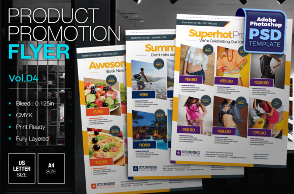 Product Promotion Flyer Graphic By KitCreativeStudio