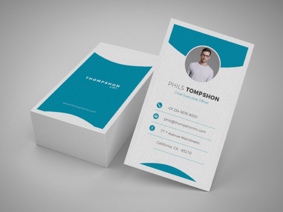 Print on Demand: Professional Business Card Graphic Print Templates By onedsgn