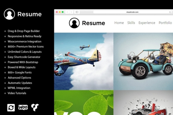 Download Free Dark Responsive Wordpress Theme Graphic By Visualmodo Wordpress for Cricut Explore, Silhouette and other cutting machines.
