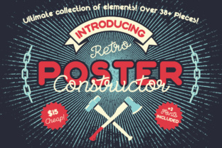 Retro Poster Constructor Graphic By NREY