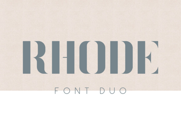 Print on Demand: Rhode Display Font By Mike Hill
