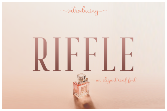 Print on Demand: Riffle Serif Font By craftsupplyco - Image 2