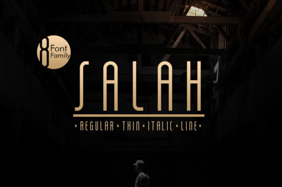 Print on Demand: Salah Sans Serif Font By Khurasan