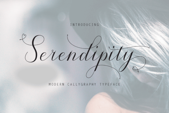 Print on Demand: Serendipity Script & Handwritten Font By cropstudio