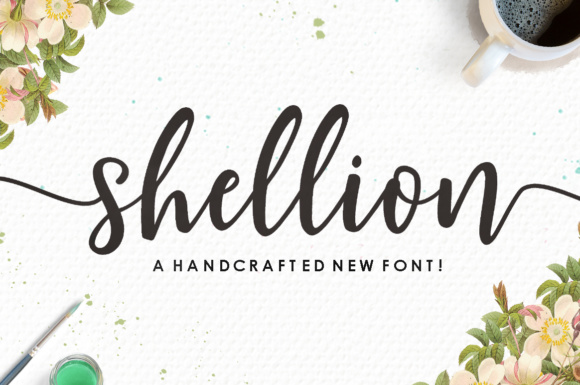 Print on Demand: Shellion Script & Handwritten Font By Youngtype