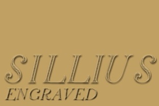 Silius Engraved Display Font By Intellecta Design