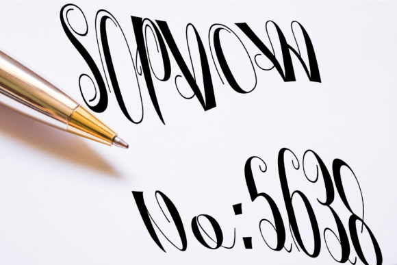 Print on Demand: Silvagia Script & Handwritten Font By siwah.wah52 - Image 6