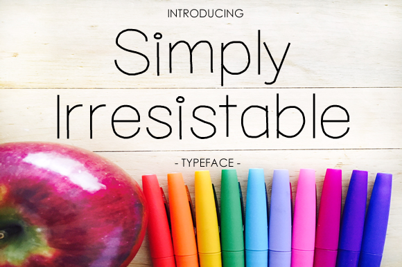 Print on Demand: Simply Irresistible Sans Serif Font By yh.seaofknowledge