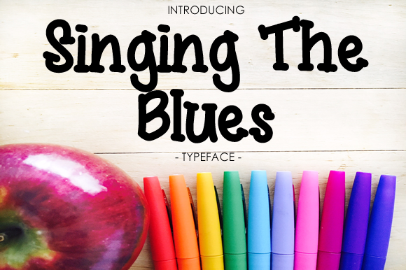 Print on Demand: Singing the Blues Script & Handwritten Font By yh.seaofknowledge - Image 1